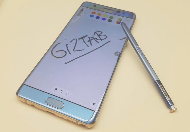 Samsung paraliza la venta del Galaxy Note 7 por un problema en la batería