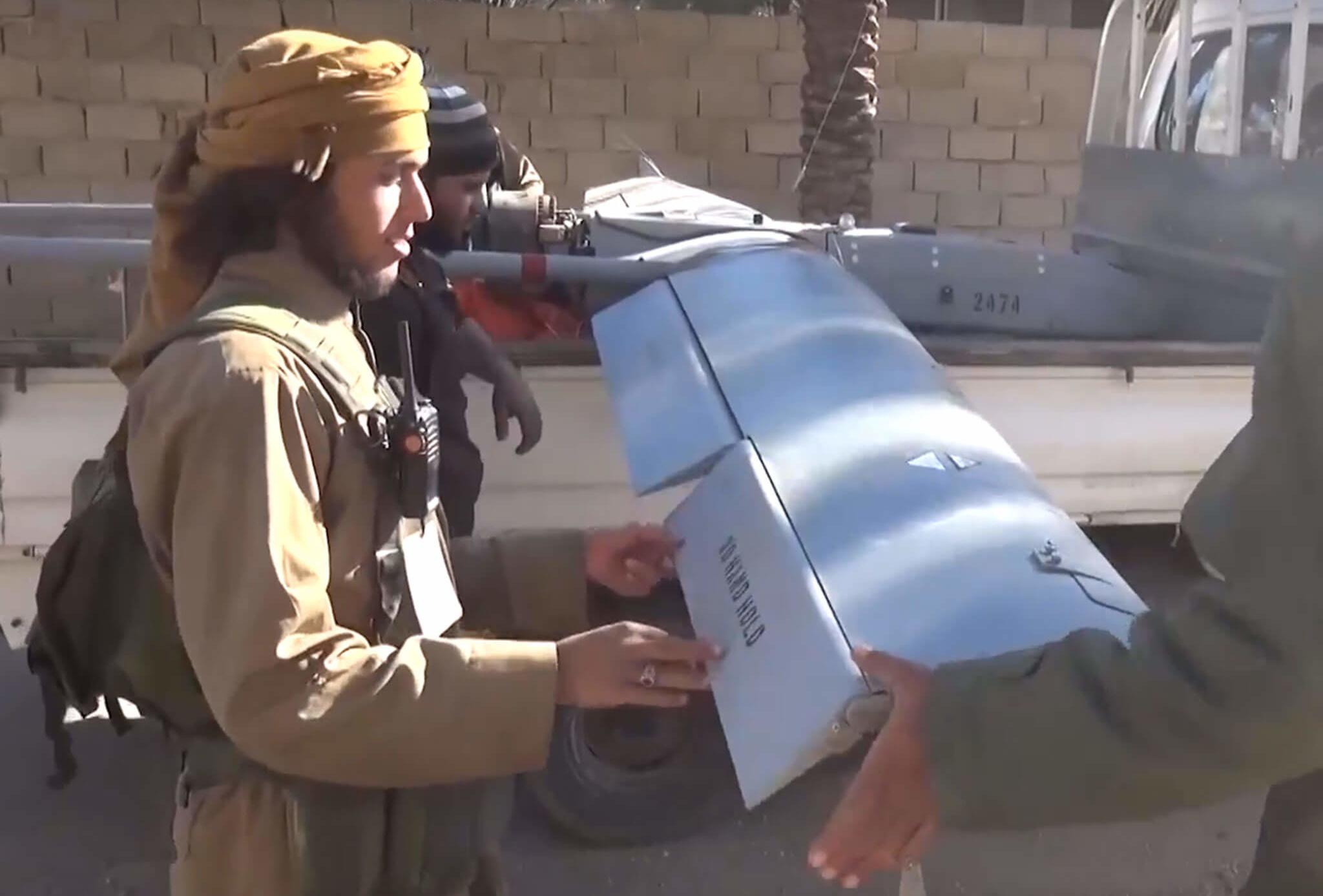ISIS usó un dron para matar