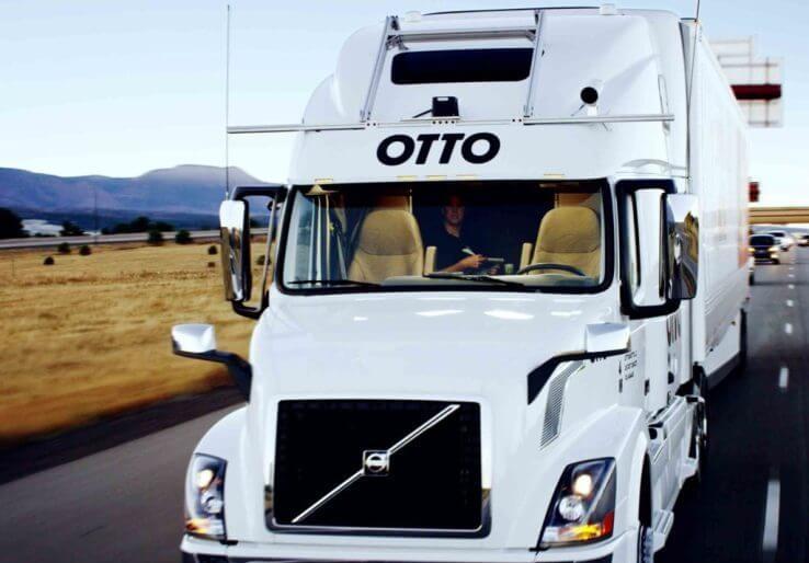 Otto, el camión autónomo de Uber