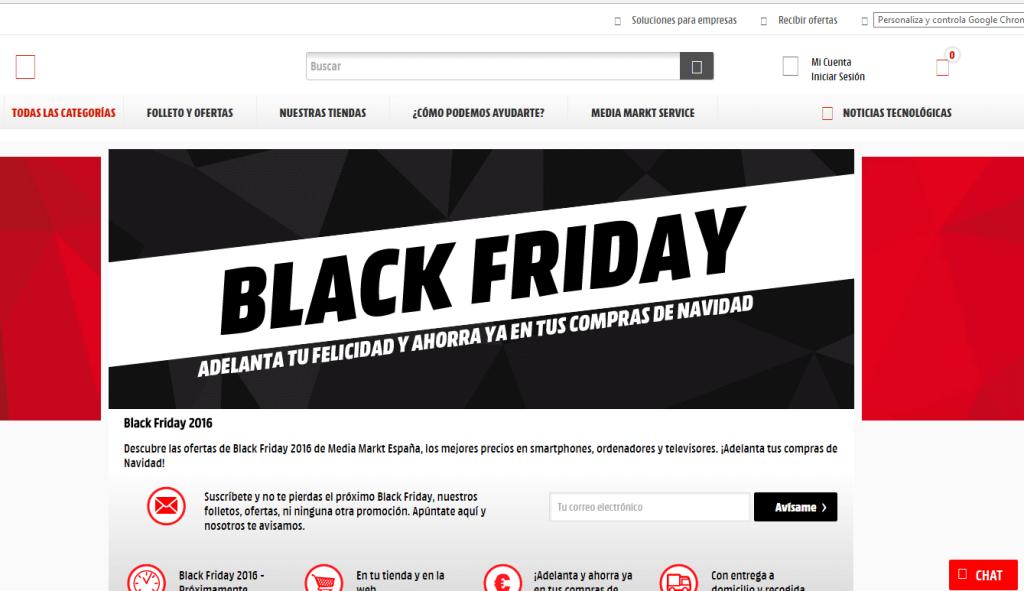 Mejores ofertas de Black Friday en Media Markt