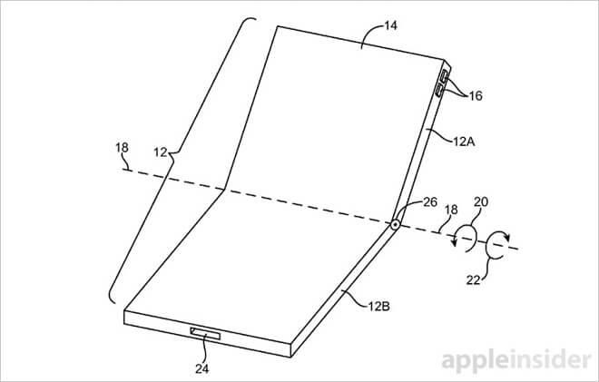 iPhone con pantalla flexible