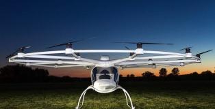 dron para transportar personas