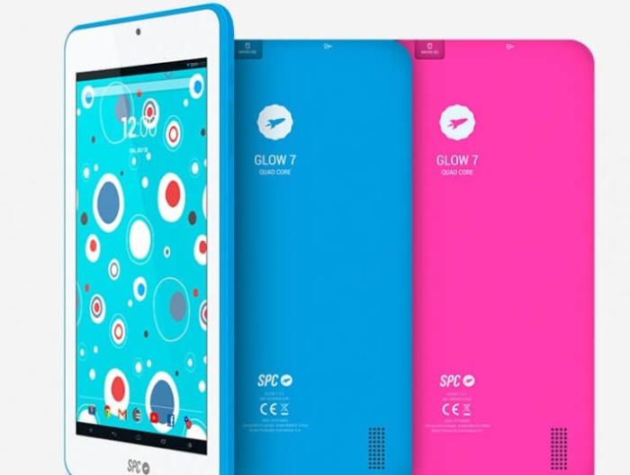 Glow 7 y Glow 10, dos tablets de SPC buenas, bonitas y baratas