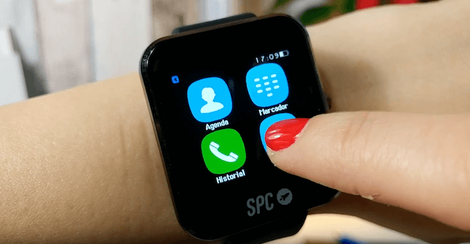 SPC Smartee Slim, un smartwatch barato para Android y iPhone, ideal para regalar en Navidad