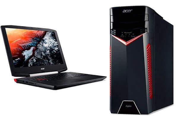 Acer Aspire VX 15, V Nitro y la Gama GX, nuevos ordenadores de máximo rendimiento