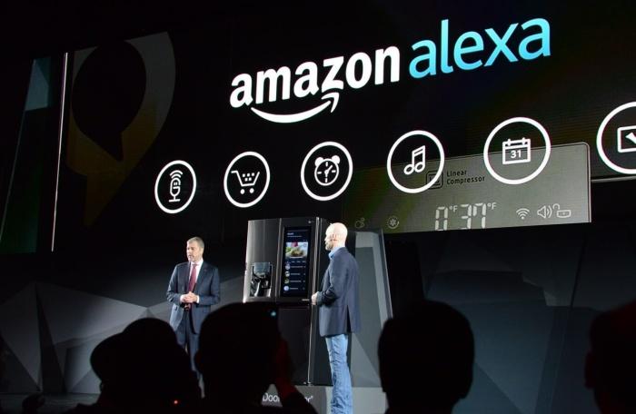 Nuevo frigorífico de LG integra Amazon Alexa