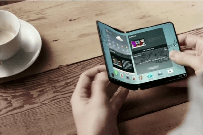 ¿Imaginas un Smartphone plegable? Samsung Galaxy X Plus lo hace posible