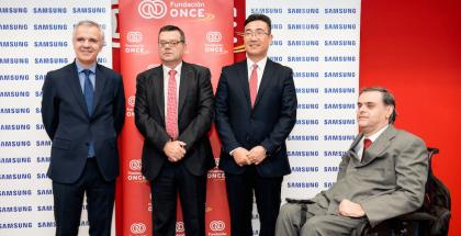 Acuerdo de Samsung y Fundación ONCE