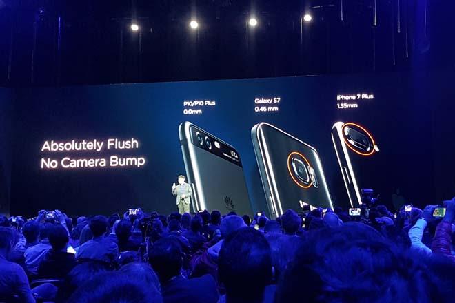 Huawei P10 cámara
