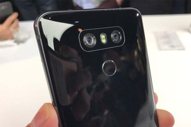 LG G6 cámara