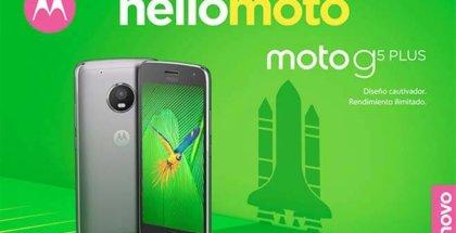 Moto G5 características oficiales