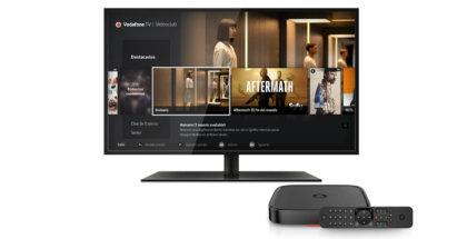 Oferta de televisión 4K de Vodafone TV