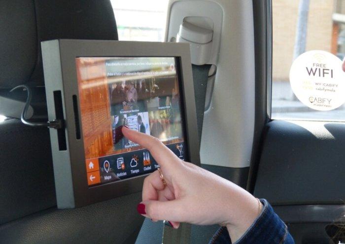 Las Samsung Galaxy Tab A se suben a Cabify