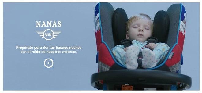 Nanas MINI: la app que te ayudará a dormir a tu bebé