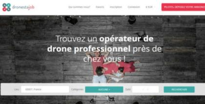 Dronestajob, el portal para buscar trabajo como operado de drones