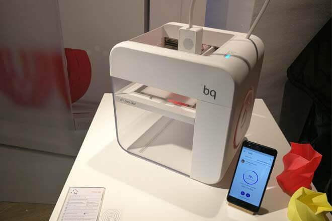 BQ Witbox Go, la impresora 3D con Android de BQ