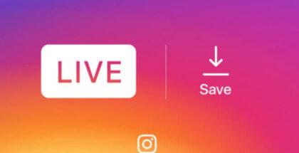 Ahora Instagram te ofrece la opción de guardar tus videos en directo