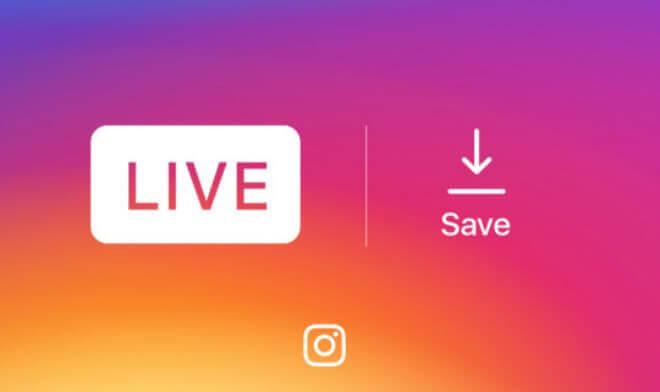 Cómo guardar tus videos en directo en Instagram