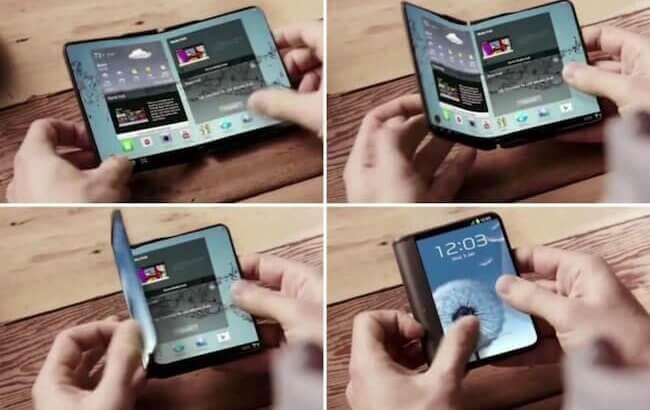 Samsung Galaxy X: todo sobre el móvil plegable de Samsung