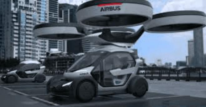 Pop.Up, el coche volador de Airbus para burlar el tráfico