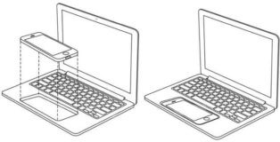 Dispositivo que convierte un iPhone en un MacBook