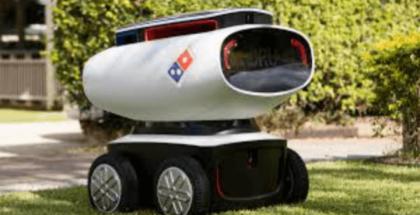 Este verano un robot podría llevar hasta tu casa tu orden de Domino´s Pizza