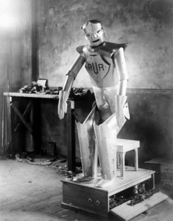 Eric, el primer robot de Reino Unido