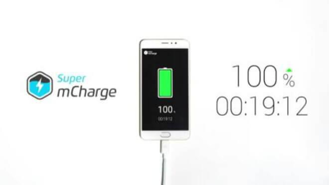 Cargar la batería móvil en 20 minutos, la propuesta de Meizu