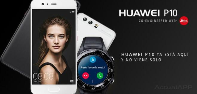 Algunas compañías, como Orange y Vodafone, incluyen el Huawei Watch 2 4G de regalo por la compra del Huawei P10