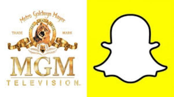 Snapchat se alía con MGM para producir vídeos de entretenimiento efímeros
