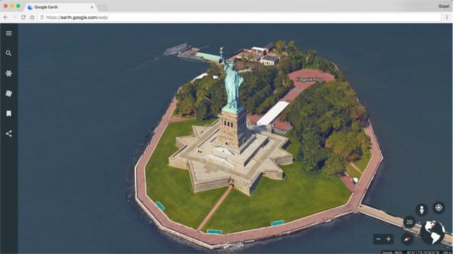 Google Earth te permite conocer el mundo en 3D