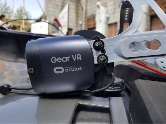 Así es la montaña rusa con realidad virtual de Madrid