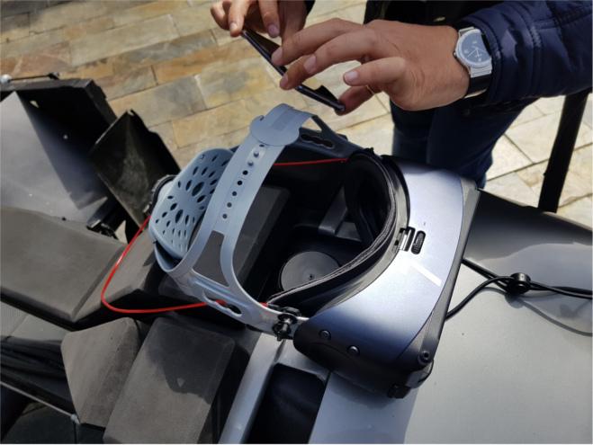 La montaña rusa de realidad virtual brindará una experiencia única a los usuarios.