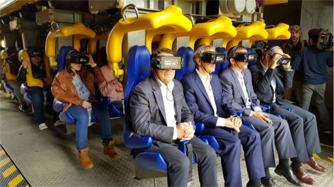 Samsung reinventa la montaña rusa gracias a la realidad virtual