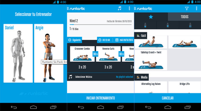 Runtastic Six Pack Ab Workout