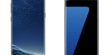 Samsung Galaxy S8 Vs. Galaxy S7