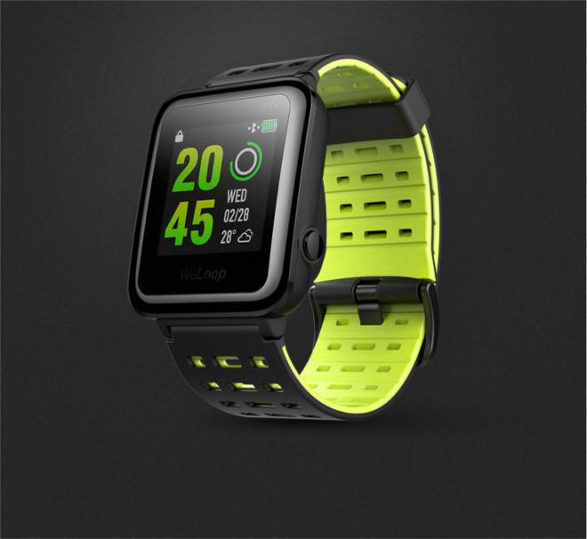 Las características del WeLoop Hey 3S son similares al Apple Watch Nike+