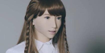 Esta es Erica, la robot humanoide con la que puedes conversar