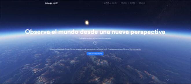 Google Earth se reestrena para el Día Mundial de la Tierra