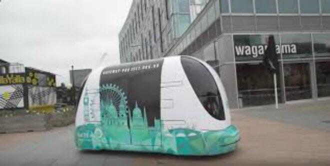 Mira cómo funciona el transporte sin conductor en Londres