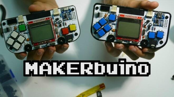 Conoce Makerbuino, la consola que podrás armar tú mismo