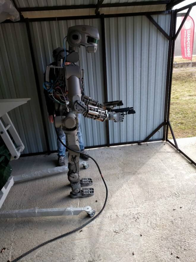 Rusia se prepara para la guerra con su propio robot Terminator