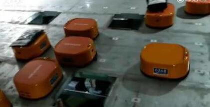 Robots hacen todo el trabajo en una empresa china