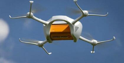 Drones para transportar muestras de laboratorio