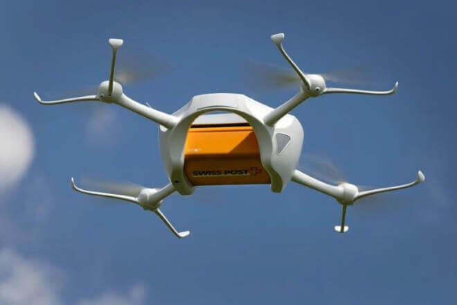 Drones para transportar muestras de laboratorio serán utilizados en Suiza