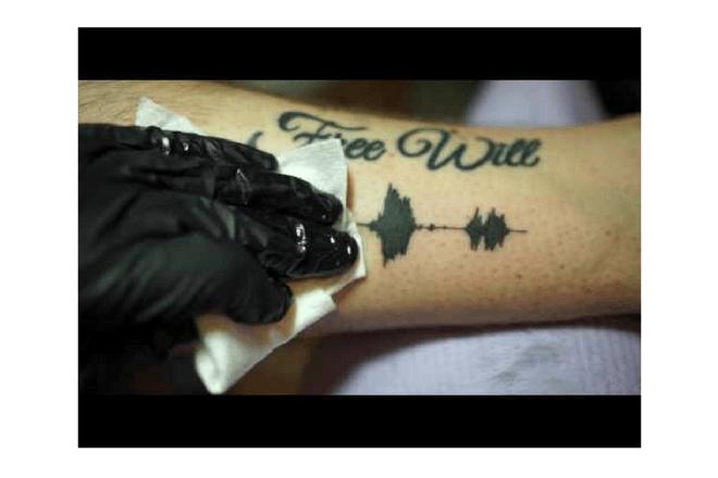 Un tatuaje que reproduce la voz puede ser una realidad con la app SkinMotion