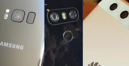 Comparativa Galaxy S8 Plus vs LG G6 vs Huawei P10