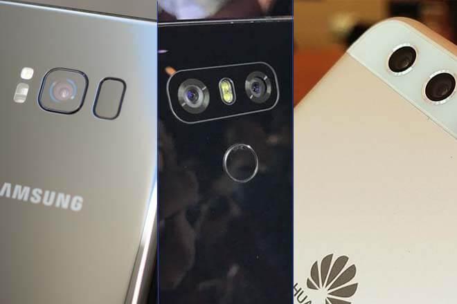 Comparativa Galaxy S8 Plus vs LG G6 vs Huawei P10