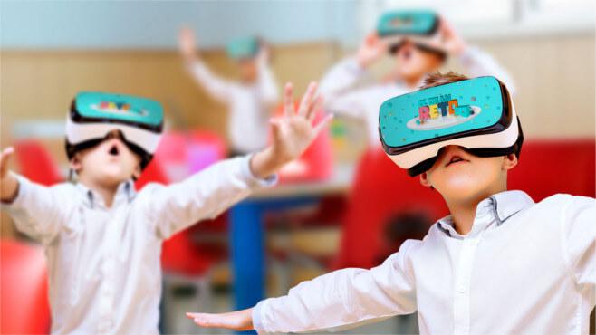 Realidad virtual llega a los colegios