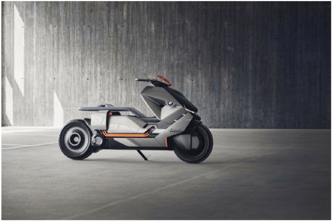 BMW presenta candidata a moto del fututo